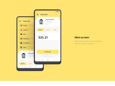 Taxi app UI Design