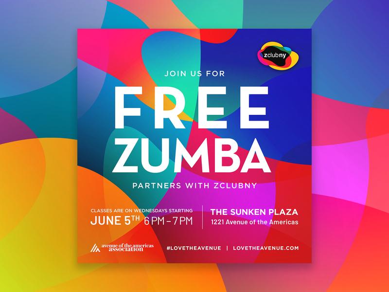 AOA Zumba lovetheavenue aoa nyc zumba abstract marketing socialmedia event