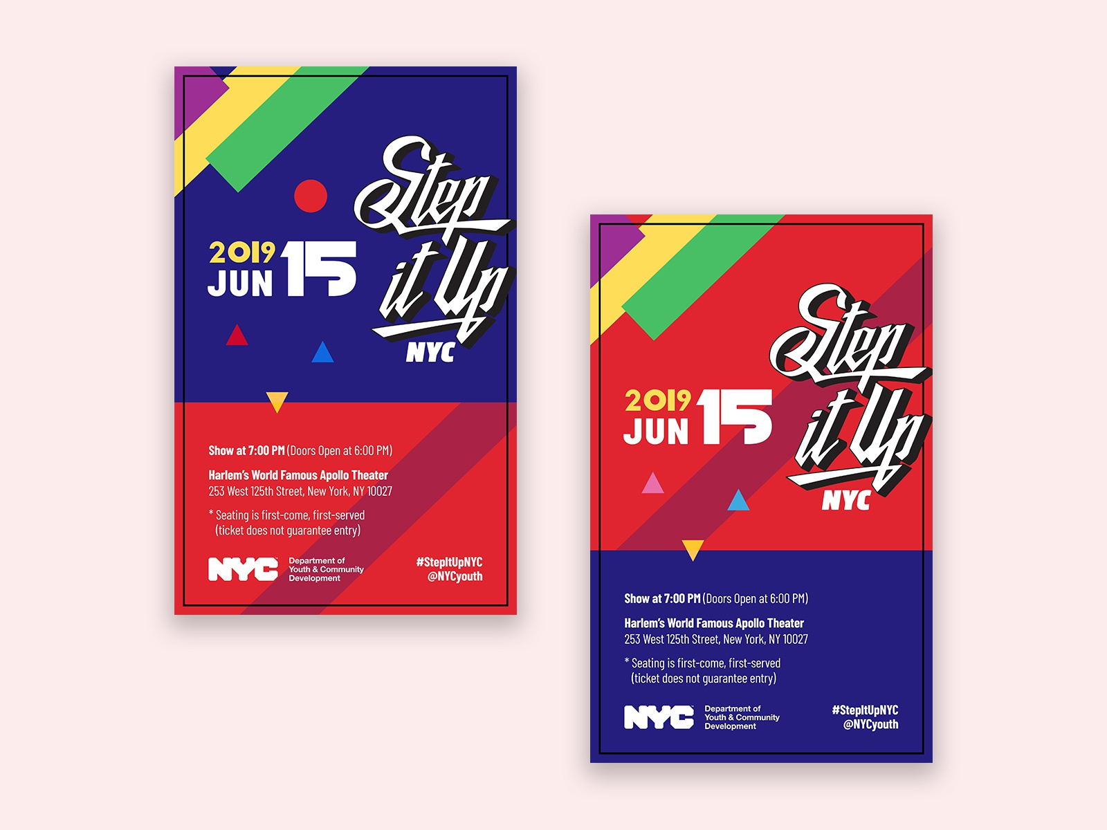 Step it up tickets 2019 dribbble
