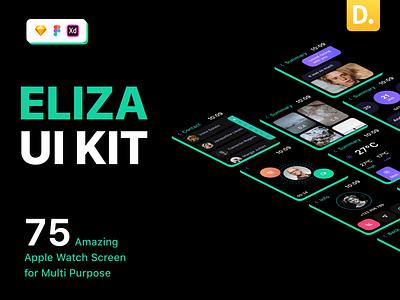 Eliza - Apple Watch UI Kit life style