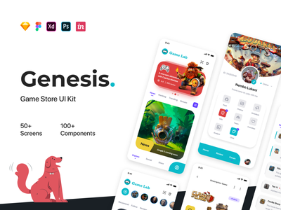 Genesis - Manager Game UI Kit hobby
