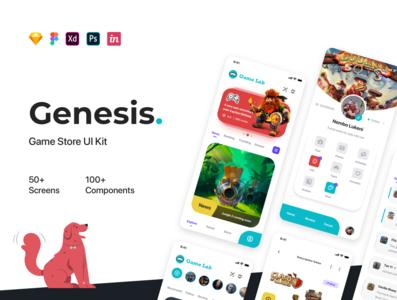 Genesis - Manager Game UI Kit hobby