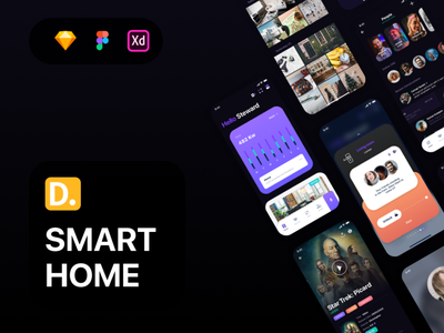 Sofia - Smart Home UI Kit mobile app iot technology interface 4.0 ai network ui kit smart home