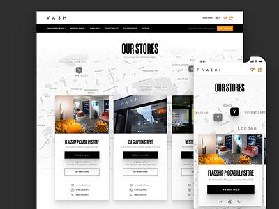 Visit Us Responsive diamond slide first mobile dealer location locator store map responsive