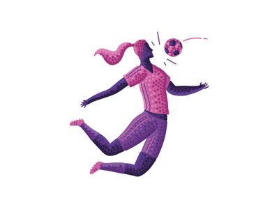 Women Sports pointillism women sports vector design 2d digital art character design illustration