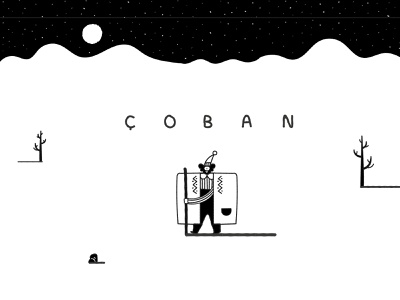 Coban (GGJ 21) snow game jam game art game vector animal design 2d character design illustration
