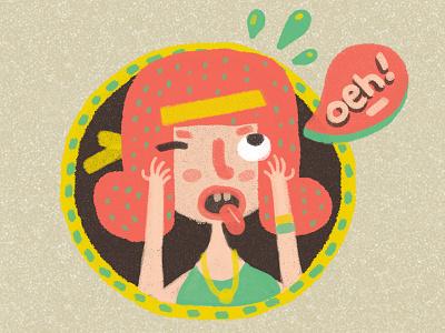 PMS 2 character design illustration