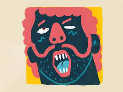 Frederic Ahmad character design illustration