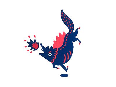 Fall //Inktober II// inktober wolf animal illustration