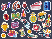 Selfy Stickers I