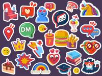 Selfy Stickers II