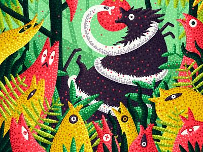 Arena digital art animals jungle digital edition fine art print print illustration