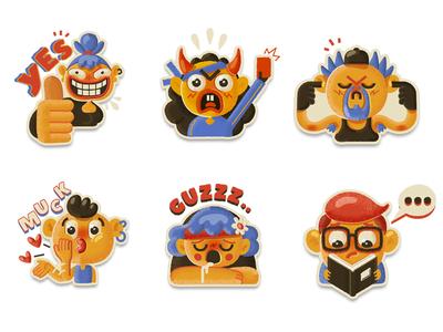 Mango Buddies Sticker Pack II