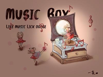 八音盒舞者 illustration