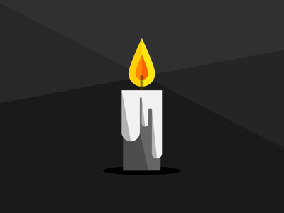 Geometric Candle geometry geometric shapes candle light simplistic