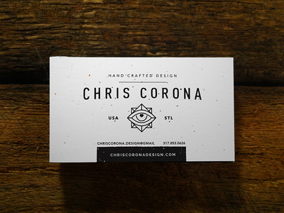 Business Cards minimalism occult chris corona wood texture grit grunge stl card business cards