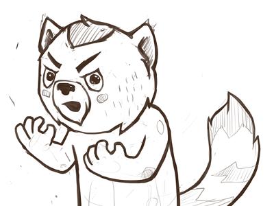 Y U NO? sketch character wip unused