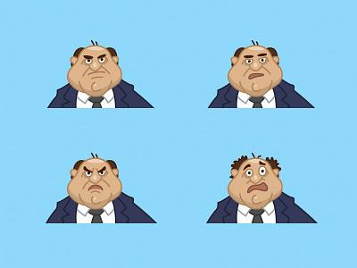 Russian politician face emotions character politician russian