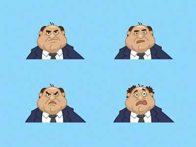Russian politician face emotions character politician russian