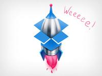 Dropbox♥dribbble