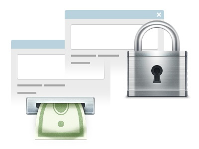 Website Teasers lock money metall cash atm payment