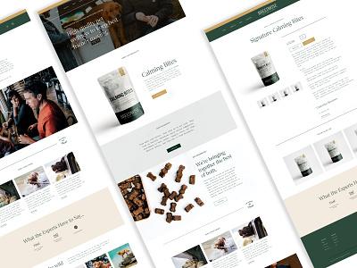 Breedwise Web Experience ecommerce shopify web design identity design dogs consumer d2c brand design typography illustration branding
