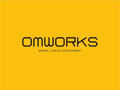 OMWorks Exploration identity design brand brand identity development typography design branding