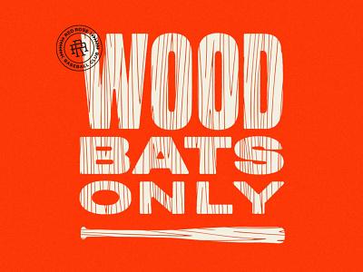 RRB - Wood Bats Only red rose lancaster wood bat baseball red rose baseball