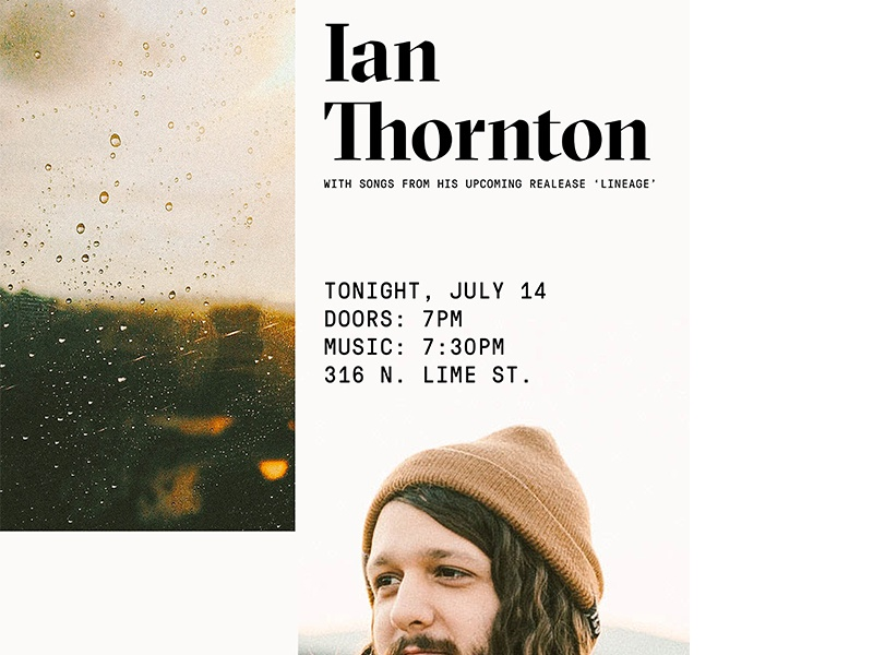 20 Minute Poster house show lineage ian thornton music