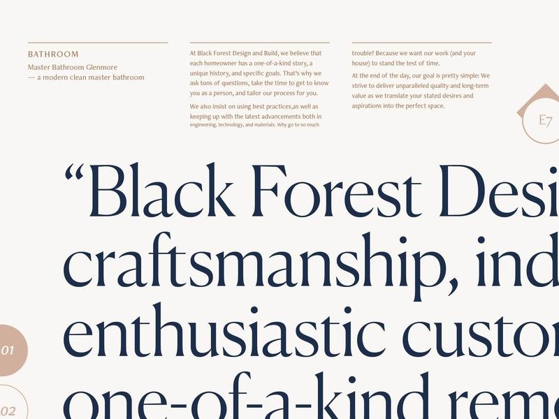 Black Forest Proposal design build black forest canela