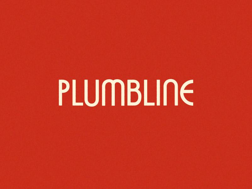 Plumbline Wordmark WIP
