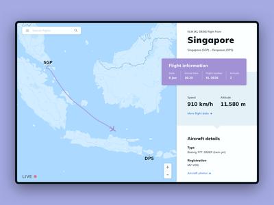 Daily UI #020 | Location Tracker