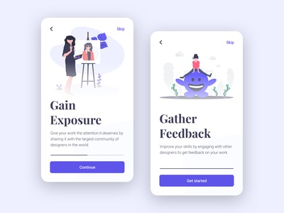 Daily UI #023 | Onboarding