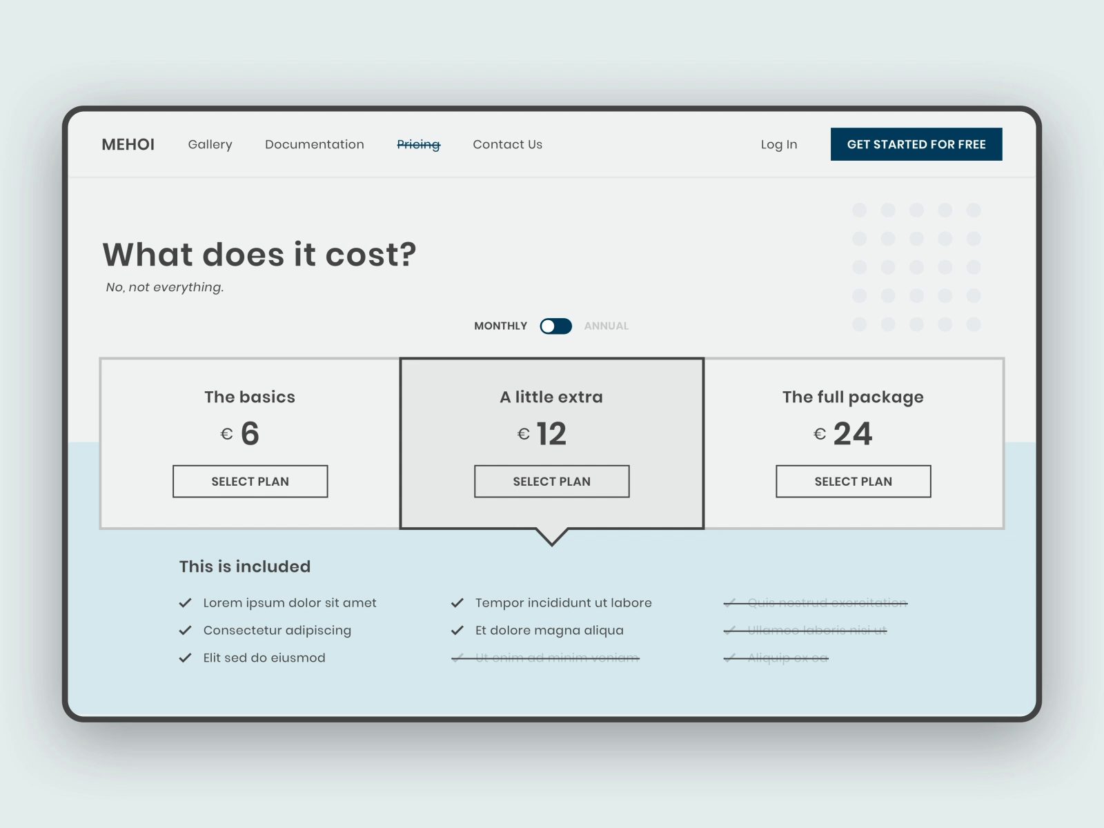 Pricing by jeffrey thumann