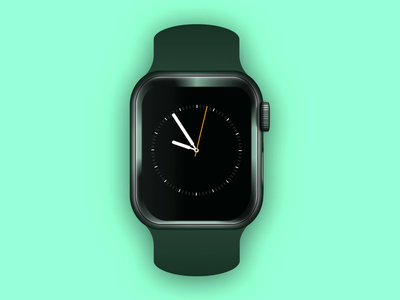 CSS Only Apple Watch 4 codepen pure css code apple watch apple css3 pure