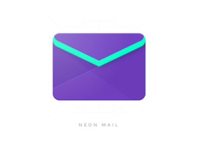 Neon Mail - Material Design