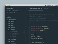 Material Theme Sublime Text 3