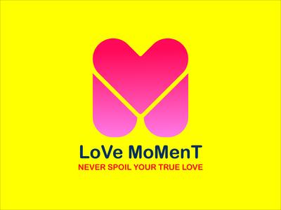Love Moment Logo Design