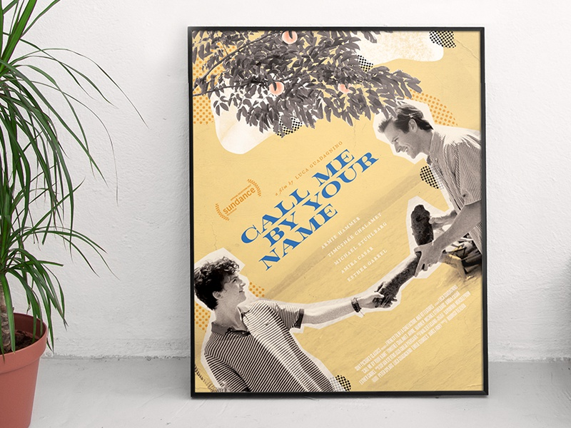 Call Me By Your Name Movie Poster By Jessica Resendiz Dribbble