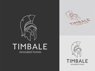 Logo for a company that renovates and sells old houses graphic design logo