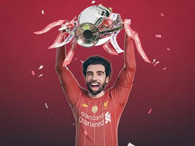 Congratulations Champions avatar character lfc champions reds trophy champions premier league football salah liverpool fc
