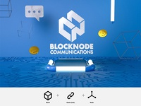 Logo Design-Blocknode Communication