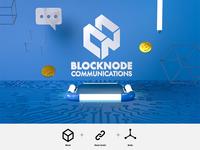 Logo Design-Blocknode Communication