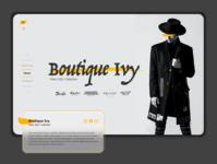 Fashion Landing Page fashionline userexperience webpage website fashion adobexd prototype adobe design