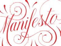 Manifesto Vector