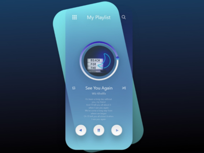 Neon button preview - music appreciation