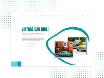 Have a vintage car ride or buy your favorite vintage car💙