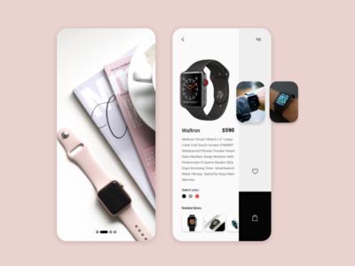 Smart Watch Online Application