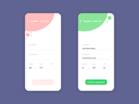 Credit card checkout - Daily UI Design Challenge 002