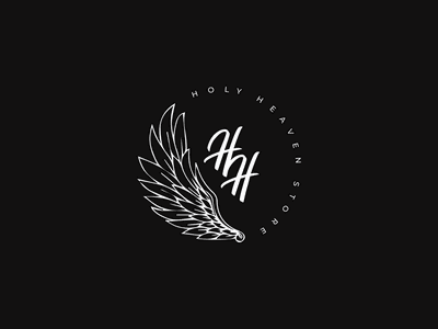 Holy Heaven Store vector typography design heaven holy logodesign branding brand logotype logo